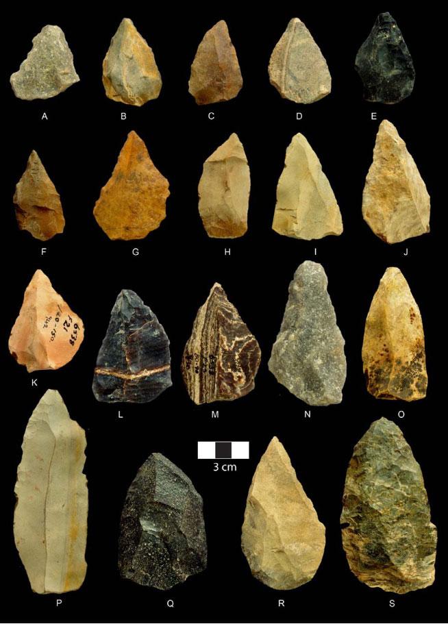 Каменный наконечник картинка