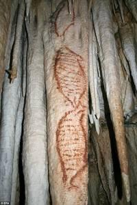 Изображения «тюленей» из пещеры Нерха, Испания.