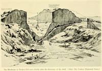 Схема рудника Брокен-Хилл и пещеры, в которой был найден череп. Источник: Smithsonian Scientific Series, v. 83, «The Skeletal Remains of Early Man», 1930.