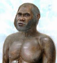 Реконструкция внешности ''человека из Оленьей пещеры'' (Peter Schouten)