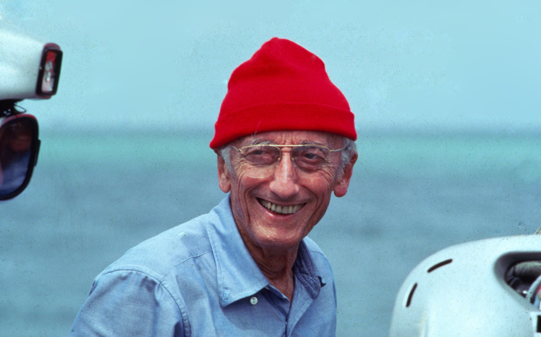 I the one and only jacques cousteau invented the