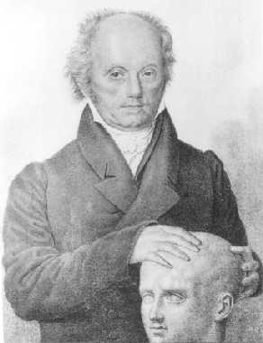 franz joseph galls scientific linkage of the morphology of the skull and personality traits