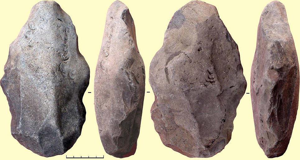 как выглядит рубило древнего человека фото